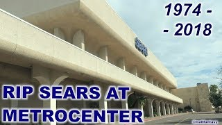THE CLOSING OF SEARS @ METROCENTER MALL | MALL FANTASY