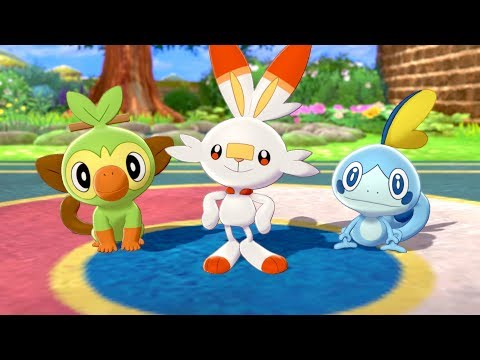 Pokemon Sword Shield Release Date Starter Pokemon Setting New