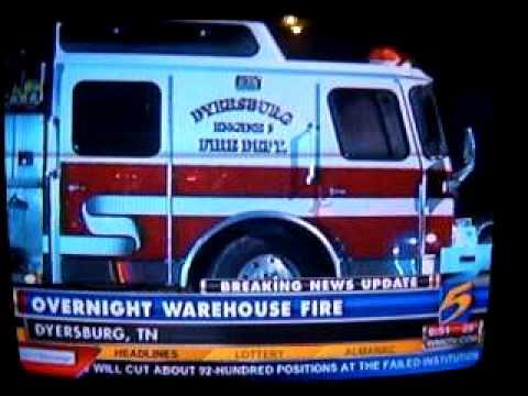 Bekaert Fire, Dyersburg TN