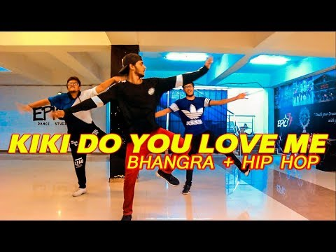 DRAKE - IN MY FEELINGS (Kiki) Dance @Ajeeshkrishna ( Bhangra + Hip Hop)
