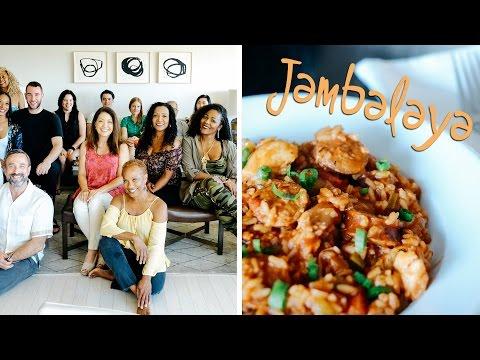AAL Live - Lisa's Creole Birthday | Jambalaya | Shrimp Po'Boys | French 75 Cocktials