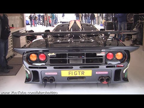 McLaren F1 GTR Longtail Exhaust Sound! Start Ups & Accelerations