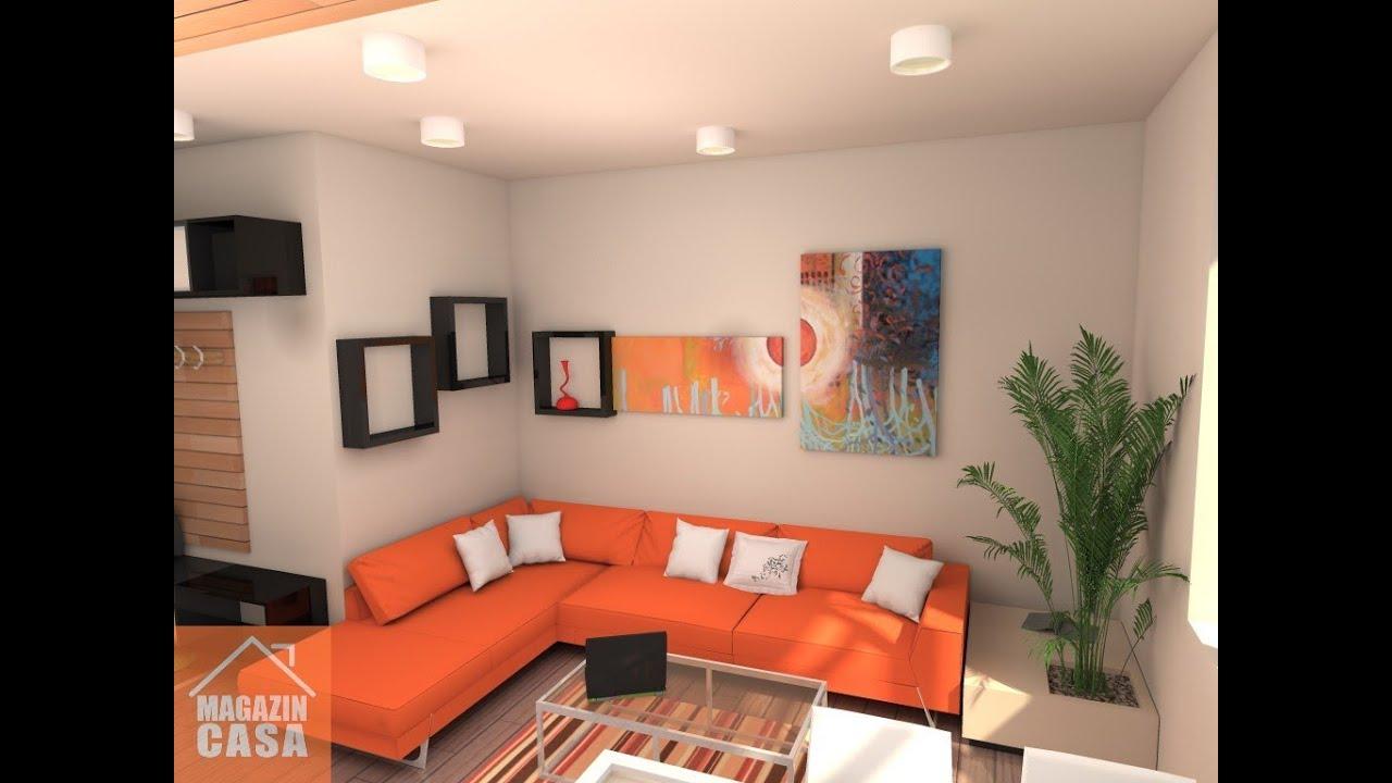 Colaj imagini amenajari interioare apartamente cu 2 doua for Design apartment 2 camere