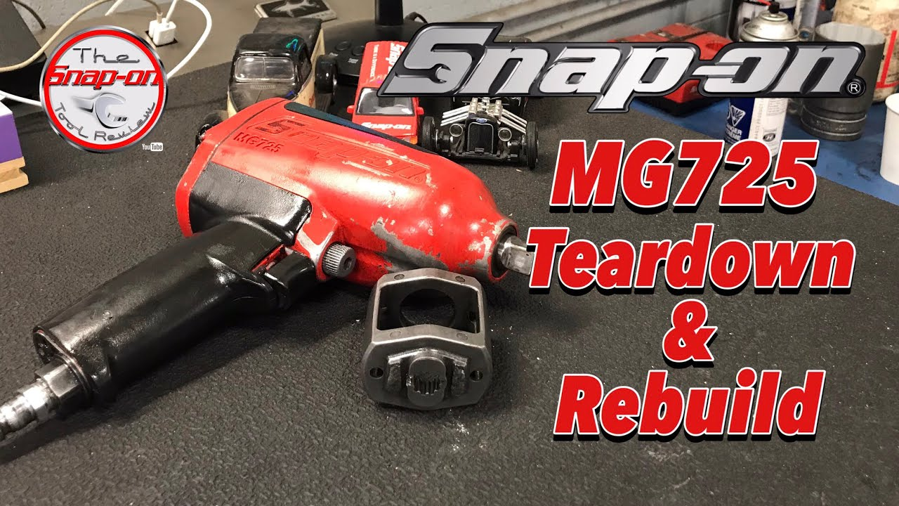 SNAP-ON MG725 Teardown & Rebuild