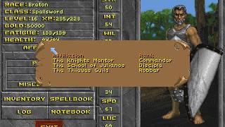 """TES: Daggerfall (PC/DOS) """"Demo"""" 1995, Bethesda (25th Anniversary)"""