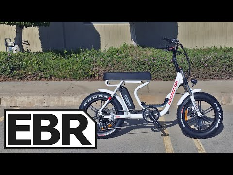 AddMotoR MOTAN M-66 R7 Review - $1.8k Step-Thru Moped Style Ebike