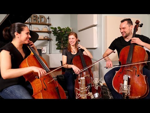 Bach Cello Suite No. 1: Prelude (for Three Cellos)
