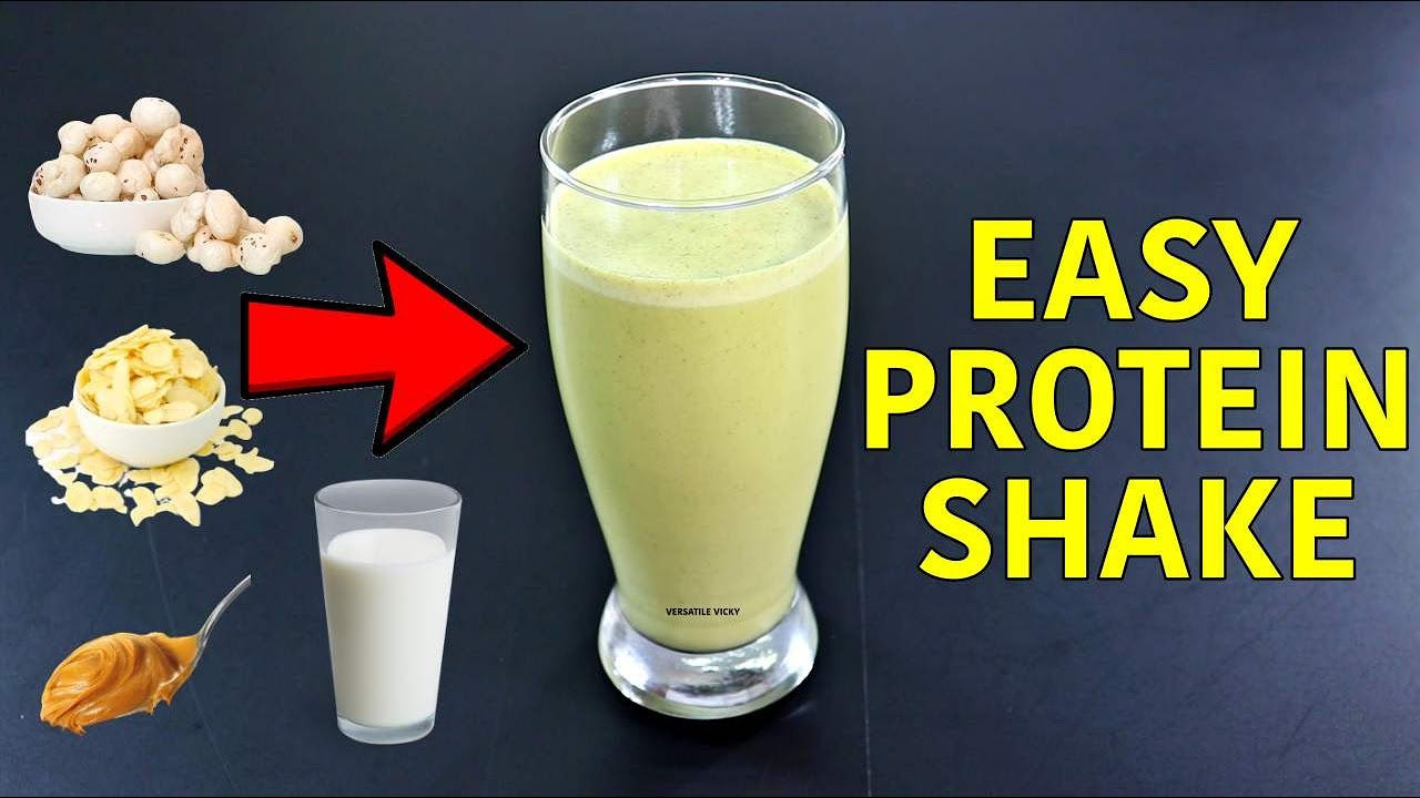 Weight Loss Protein Shake Make A Protein Shake Without Protein Powder! - YouTube