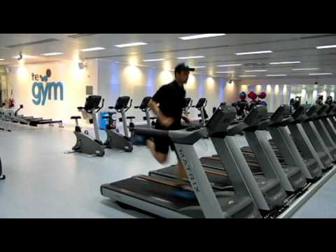 THE GYM Edinburgh Running max speed