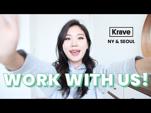 👯WE'RE HIRING! // KraveBeauty New York & Seoul