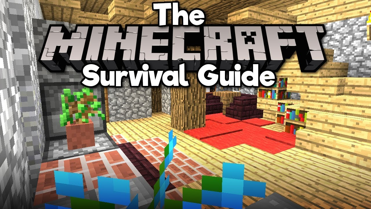Interior Design Basics The Minecraft Survival Guide Tutorial Lets Play Part 17 Youtube