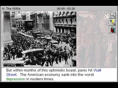 The 1930's (Social Reform Movements Part 4)