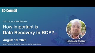 How Important is Data Recovery in BCP