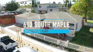Beautiful Bungalow in Escondido, California! 613 South Maple, Escondido, California!