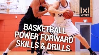 Basketball Power Forward Skills & Drills [TRAILER]
