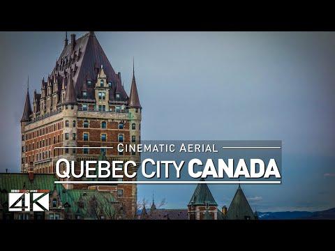 TRAILER :: 4K Drone Footage QUEBEC CITY (Canada) [DJI Phantom 4]