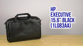 сумка для ноутбуков HP Executive Leather Messenger