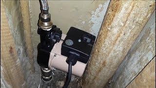 повышение давление воды в квартире и доме с помощью насоса