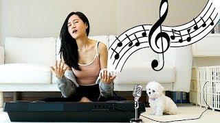 生活在韩国的中国狗狗第一次听到中文歌后, 竟然跟着唱起来了?! 场面好震惊! thumbnail