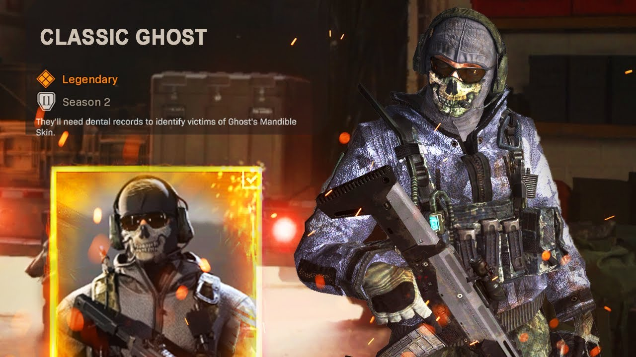 How To Get Classic Ghost Warzone Skin Free Twitch Prime Items