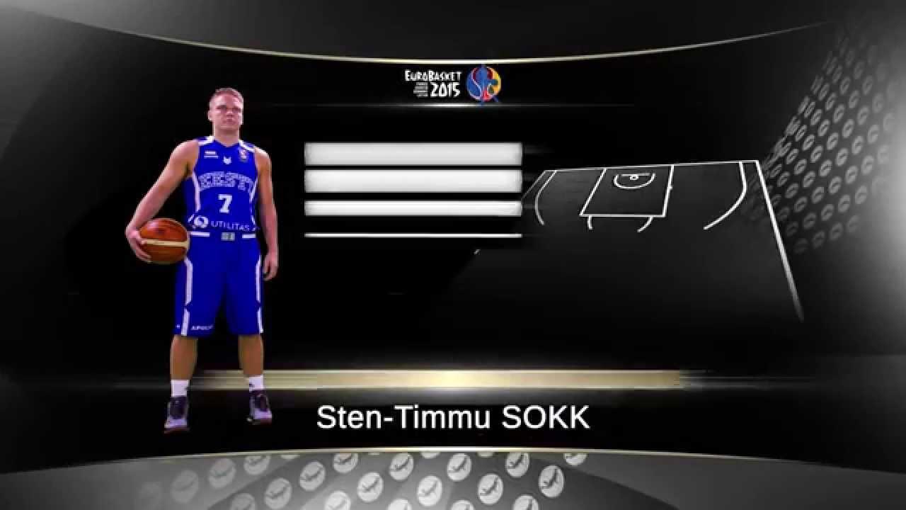 EuroBasket 2015 Sten-Timmu Sokk - Viasat Sport Baltic