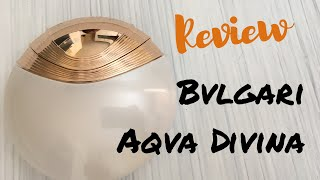 Bvlgari: Aqva Divina | Fragrance Review