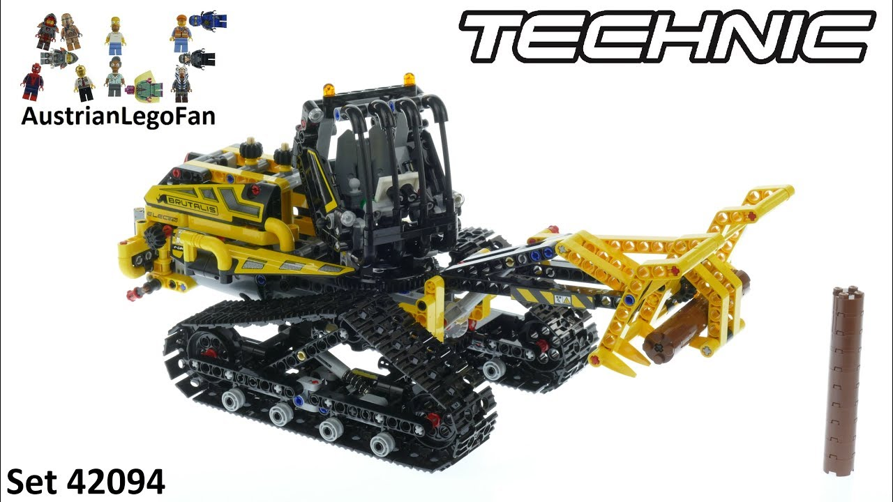 lego technic 42094 tracked loader lego 42094 speed build. Black Bedroom Furniture Sets. Home Design Ideas