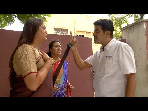 Kumar chase Gayathri out with 'Belt Beats' | Best of Deivamagal