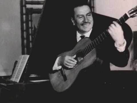 David Milan Guitarrista Boliviano 1919 - 2009
