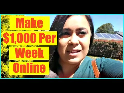 How to Make Money On The Internet – Make Money Online! Earn $1,000 A Week Online!