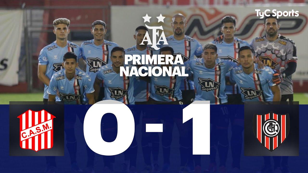 San Martín (T) 0-1 Chacarita | Primera Nacional