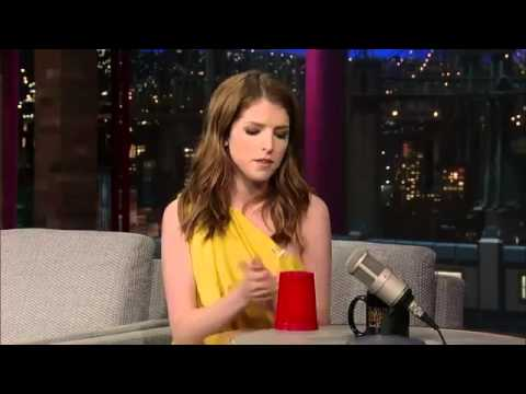 The Cup Song Youre Gonna Miss Me  Anna Kendrick on David Letterman