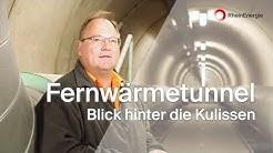 Blick hinter die Kulissen der RheinEnergie - Fernwärmetunnel