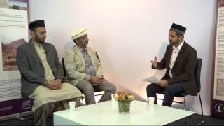 Interview with Imam Rizwan Afzal & Naseer Ahmad Wasim - 25th Jalsa Salana Sweden 2016 [Urdu]