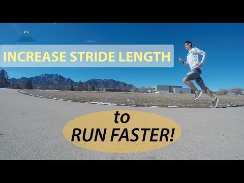 HOW TO INCREASE STRIDE LENGTH FOR SPEED! FASTER...