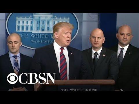 Trump makes case for border wall amid government shutdown