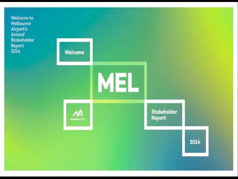 Melbourne Airport annual stakeholder report 2014