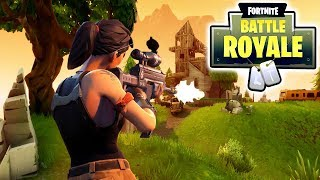 FORTNITE: BATTLE ROYALE | MY FIRST TIME! | HELP ME!😨