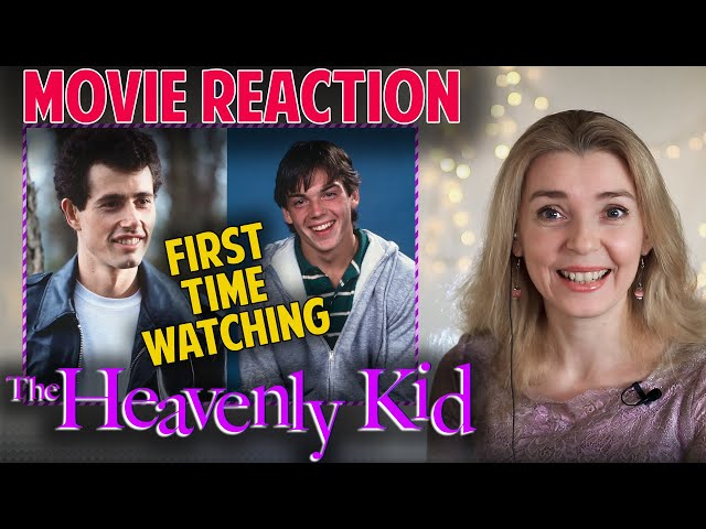 MOVIE REACTION | The Heavenly Kid 1985 | FIRST TIME WATCHING