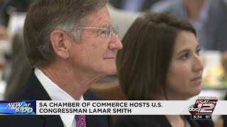 SA Chamber of Commerce hosts luncheon for US Rep. Lamar Smith