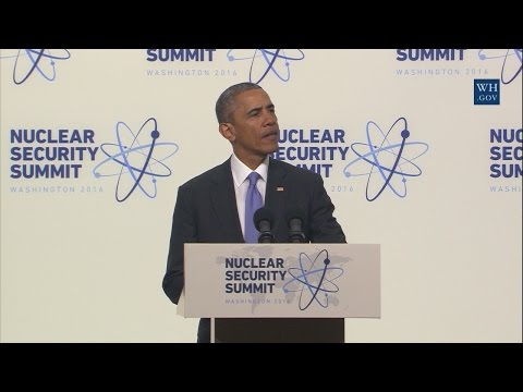 POTUS Nuclear Security Summit Press Conference
