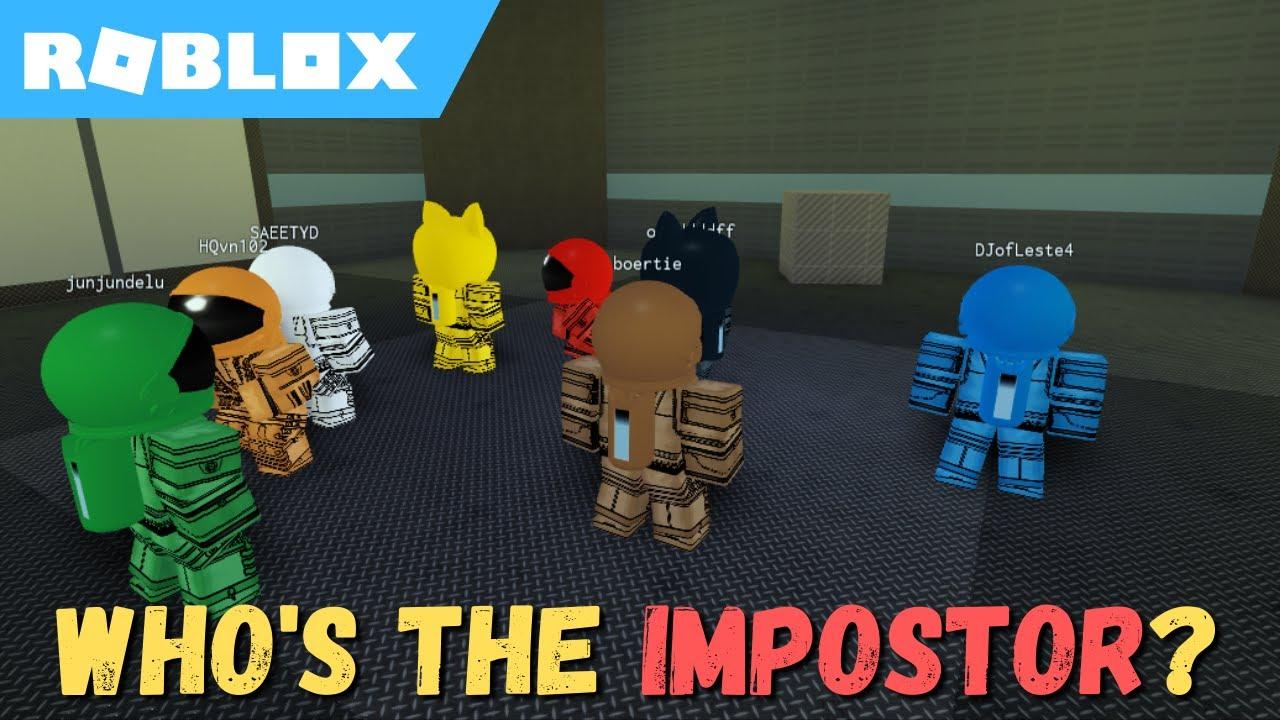 WHO'S THE IMPOSTOR? - Among Us   ROBLOX