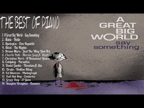 Lagu BARAT Paling Galau - The Best Of Piano