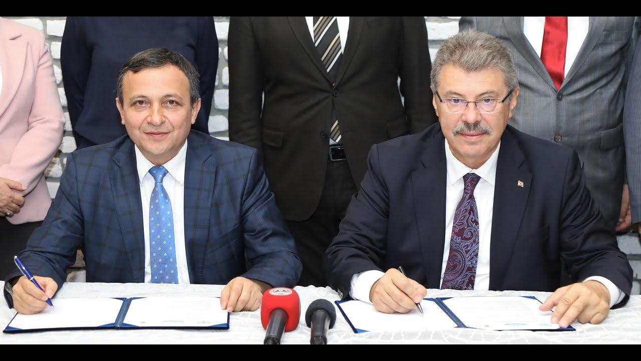 """ERÜ ve Kayseri Şeker Fabrikası Arasında """"İşbirliği Protokolü"""" İmzalandı"""