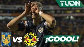 ¡Gool del América! Guido remonta   Tigres 0 - 2 América   Liga Mx - AP 19 - 4tos de final   TUDN