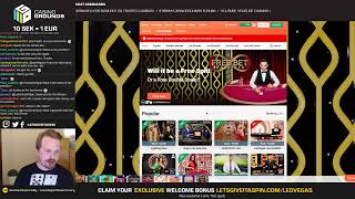 LIVE CASINO SLOTS - TABLE GAME TUESDAY 😍 (18/06/19)