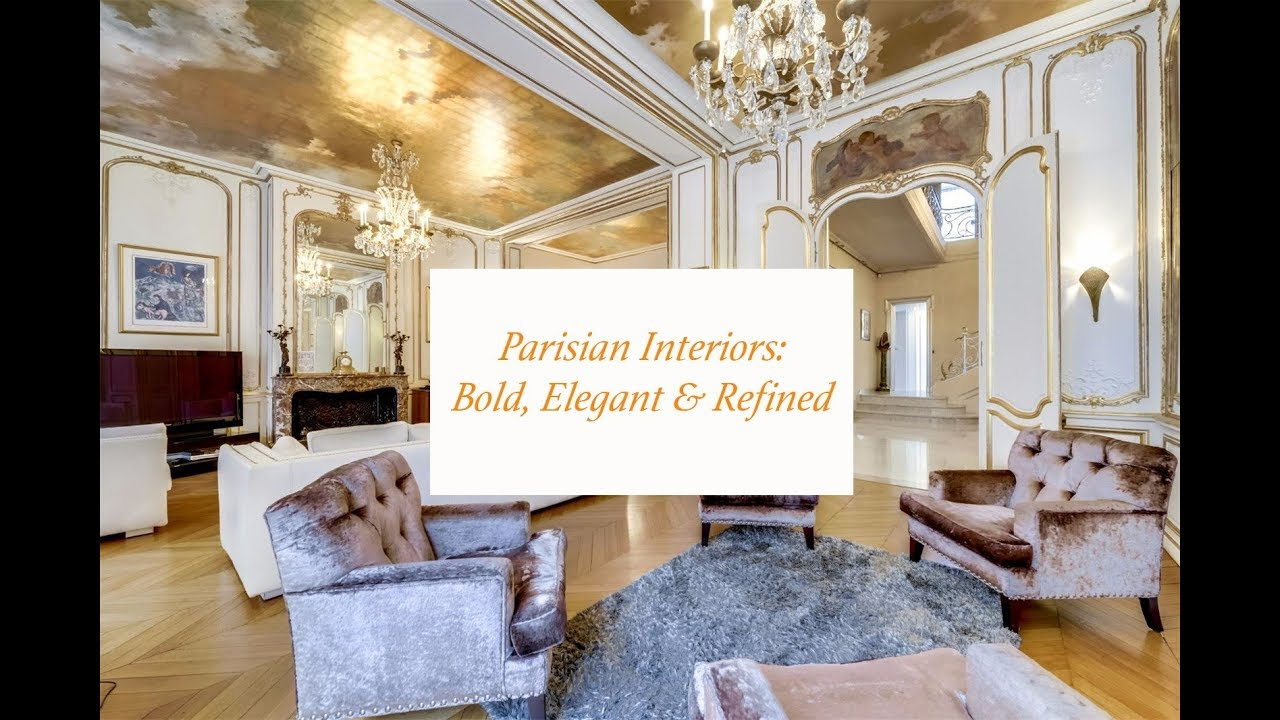 famous interior decorators hqdefault Parisian interior design : Paris : French