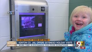 Kenton County Jail Offers Extended Thanksgiving Visiting Hours