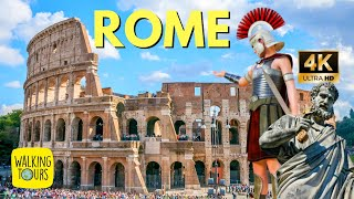Rome Italy 2019   4K Ultra HD   Rome Travel Guide   Colosseum