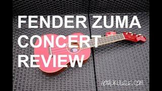 Got A Ukulele Reviews - Fender Zuma Concert